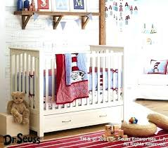 crib bedding cat in the hat baby set pottery barn kids dr seuss sets one fish two collection