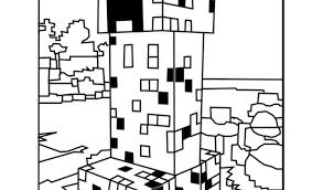Best Of Minecraft Coloring Pages Minecraft Creeper Free Coloring Book