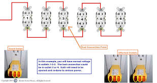 how to wire an outlet in series diagram wirdig outlet wiring diagram on wiring a switched outlet diagram power to