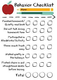 best high school behavior checklists charts images  classroom management essay behavior essay for middle school coursework help