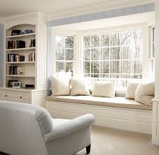 ... Window seat design with storage drawers