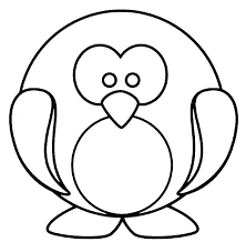 cute penguin coloring pages.  Cute Baby Penguin Coloring Pages Printable Cute Pit Penguins Schedule Color  Animals Realistic To E