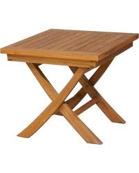 chic teak furniture. contemporary chic chic teak titanic outdoor folding side table for furniture