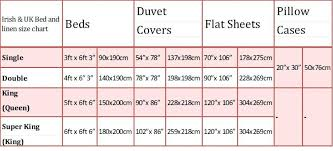 large image for bed sheet sizes chart single bed quilt size ikea easy single bed quilt