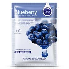 【<b>100</b>% Genuine▶️】1PCS <b>ROREC</b> Blueberry <b>Moisturizing</b> Mask ...