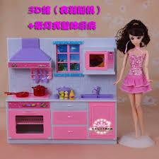 barbie furniture dollhouse. Boneka Kabinet Set/Furniture Dollhouse Dapur Cookhouse Dengan Cahaya Aksesoris Untuk Barbie Ken Kelly Furniture E