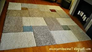 10 quick tricks to make fun and affordable rugs the fracture blog