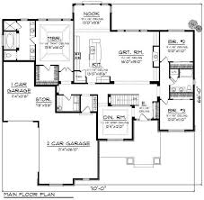 5000 sq ft ranch house plans lovely 4000 square foot floor plans