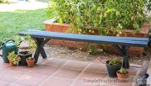 medium size of wood patio bench diy wooden outdoor furniture pallet saving an ugly simple practical