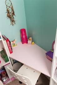 diy ikea corner desk via realcoake
