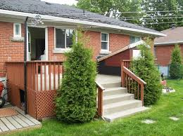 picture of building a wooden deck over a concrete one