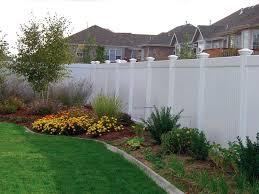 maintenance free privacy vinyl aluminum fences in st paul decorative vinyl fence best ideas for garden