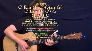 Country Guitar Chords Chart Country Nation Brad Paisley Guitar Lesson Chord Chart Capo 4th