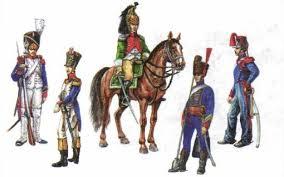 Наполеон и Россия Новая история Реферат доклад сообщение  Солдаты и офицеры французской императорской армии