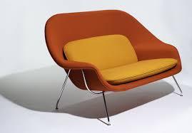 Eero Saarinen's Two-Seater: the Womb Settee