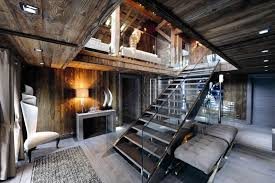 Swiss Chalet Decor Chic Modern Rustic Chalet In The Rhne Alpes Idesignarch