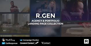 Website Html Templates Beauteous RGen Marketing Agency Landing Page HTML Template