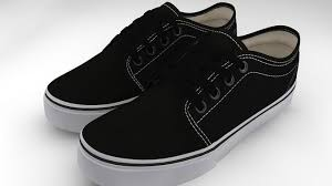 vans 106. vans 106 vulcanized core classics vr / ar low-poly 3d model n