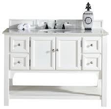 south hampton 48 single vanity white finish guangxi beach charming coastal bathroom vanity 3 hamptons style
