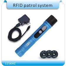 <b>125KHZ Waterproof IP67</b> Rugger <b>RFID</b> Guard Tour Patrol System ...