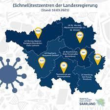 Saarland is a state of germany in the west of the country. Saarland Schnelltests Schnelltestzentren Und Testzentren Der Landesregierung Im Uberblick