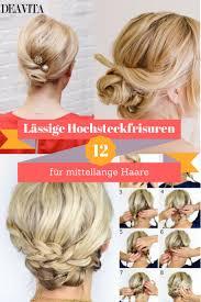 Die Besten 25 Mittellange Haare Stylen Frau Anleitung Ideen Auf