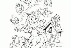 Kleurplaten Sinterklaas En Zwarte Piet Printen Cb Show