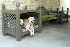 dog bed furniture. Outside Dog Beds Custom Outdoor Bed Heated Amazon Furniture