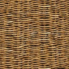 Old rattan texture seamless 12502
