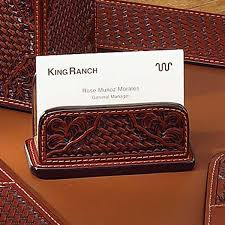 we have created some stunning ranch style leather desk accessories for your office all pieces