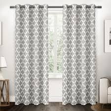 ati home neptune cotton grommet top curtain panel pair