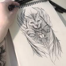Výsledek Obrázku Pro Bastet Tattoo Tattoos Bitch D тату богини