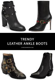 21 trendy leather ankle boots for women this fall style expert and fashion blogger can anderson has the scoop on 21 trendy pairs of