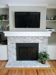 update brick fireplace remodel brick fireplace with stone update brick fireplace see how to white wash update brick fireplace