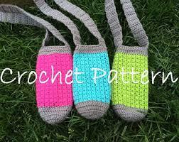 Crochet water bottle   Etsy & PATTERN PDF Crochet Water Bottle Holder, Bottle Buddy, Hiking Helper,  Crochet Bottle Pattern Adamdwight.com
