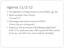 agendas journals homework and essay prompts ap literature and 2 agenda