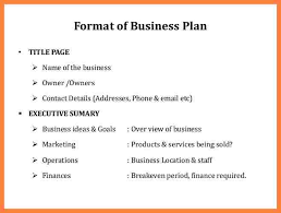 Business Plan Cover Page Examples Of Business Plan Cover Page 8 Msdoti69