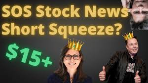 SOS Stock News - YouTube
