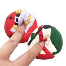 science gifts s novelty 7cm squishy snowman penguin pu slow rebound squeeze