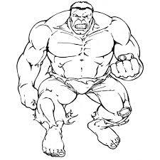 Disegni Da Colorare Per Bambini Hulk Fredrotgans