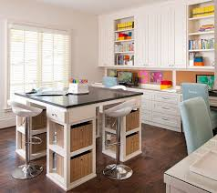 craft room office. Craft Room. I Love Seeing Creative Interiors And This Room Is Perfect For That Office T