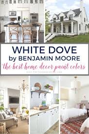 benjamin moore white dove the best