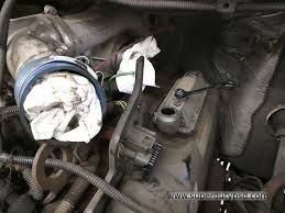 ford super duty 7 3l powerstroke glow plug replacement procedure breather housing on drivers side valve cover
