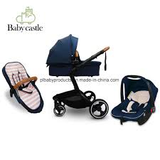 china 2018 fashion baby stroller luxury leather baby stroller hot ing 3 in 1 or 2 in 1 baby pram car china baby pram agala