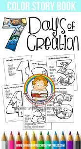 Creation Preschool Printables Bible Coloring Pages Preschool