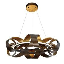 collection 1 light small led bronze chandelier the home depot 4 oil rubbed crystal