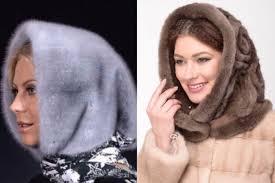 Как модно выглядит девушка зимой в капишоне