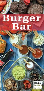 Make your first party of the summer a burger bar! These 7 steps are easy