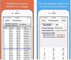 Pay Off Mortgage Early Calculator Amortization Schedule Mortgage Apps That Help You Pay Off Your Balance Faster