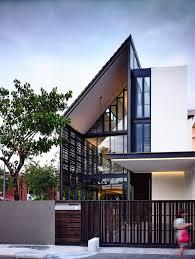 HYLA Architects have designed 'Lines of Light', a 2 storey corner terrace  house